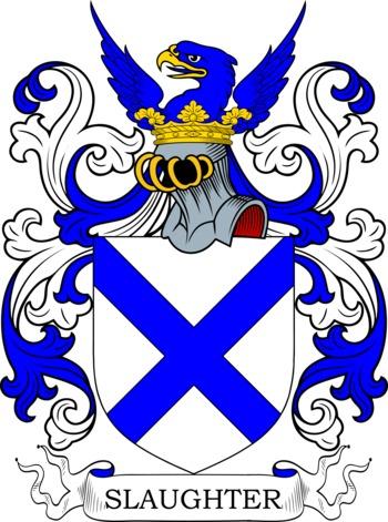 SLAUGHTER family crest