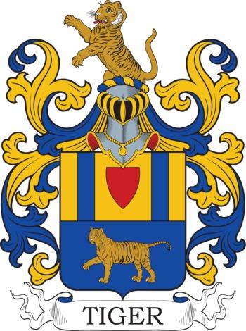 TIGER family crest