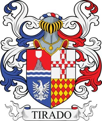 TIRADO family crest