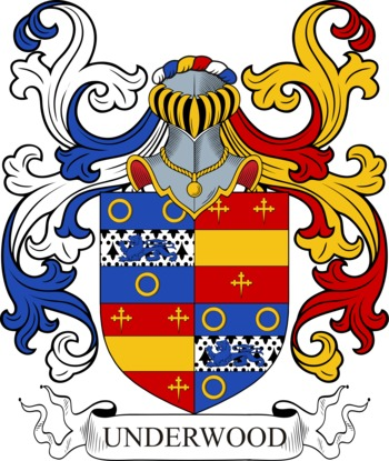 UNDERWOOD family crest