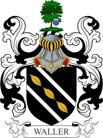 WALLER family crest