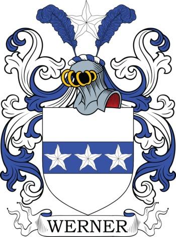 WERNER family crest