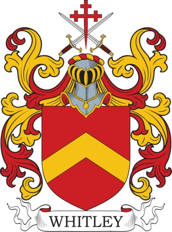 WHITLEY family crest