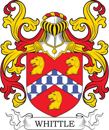 WHITTLE family crest