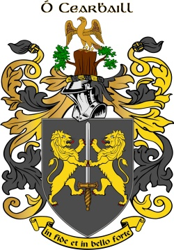 CARROL family crest