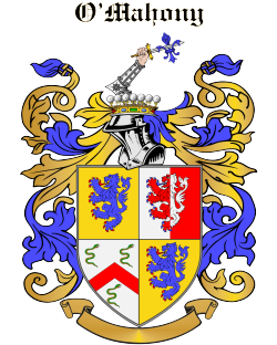 O'MAHONY family crest