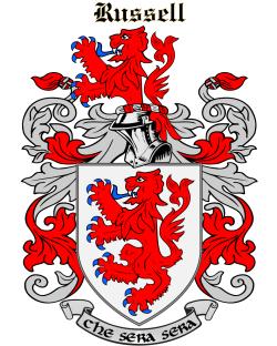 Rousel family crest
